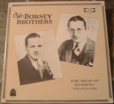 "Album By The Dorsey Brothers, ""Rare Broadcast Records"" on Fanfare"