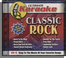 Karaoke CD+G - Ultimate: Classic Rock - New 8 Hit Song CD! Born To Be Wild!