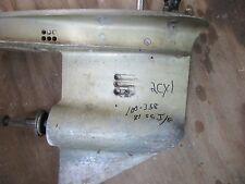 Johnson Evinrude Lower unit Gear Case   55hp 1979 thru 1981 3 Cyl Course spline