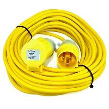 14m 110V Extension Cable Lead 16 Amp 110 Volt 1.5mm Site Power Hook Up Flex 16A
