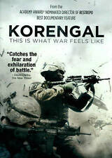 Korengal This is What War Feels Like Docum. (DVD Movie) SEALED NEW (GS 39-5)