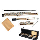 New 17 Hole Professional Golden Cupronickel School Band Student Closed C Flute