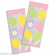 20 Easter Party Colourful EGGS Egg Hunt Cellophane Treat Loot Party Bags