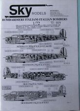 Skymodels 1/72 72019  WW2 Italian Bombers decal set