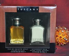 ARAMIS TUSCANY SET EDT 100ml & A/S BALM 100ml, VINTAGE, VERY RARE, New in Box
