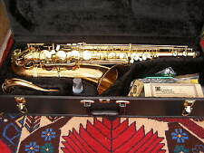 OLDS NA68JR ROSE BRASS PROFESSIONAL TENOR SAXOPHONE & OTTO LINK NY 7 MPC