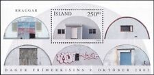 Iceland 2003 Stamp Day/Houses/Buildings/Architecture/Barracks 1v m/s (is1036)