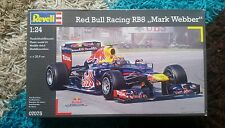 Revell 1/24 F1 Red Bull Racing RB8 M.Webber Great Condition