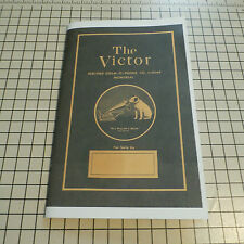 The Victor Berliner Gram-o-phone Co. Advertising Catalog - 32 pages REPRINT