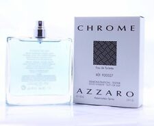 CHROME * Azzaro * Cologne for Men * 3.4 oz * BRAND NEW TESTER