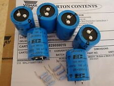 6PCS 180uf 500v 105c Snap-In Capacitors NEW & Resistors For FL-2100 Amps
