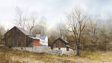 Ray Hendershot North of New Hope Barn Country Fall Landscape Print Poster 19x13
