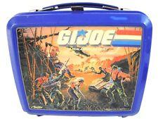 Vintage 1986 Aladdin GI Joe Lunch Box w/ Thermos