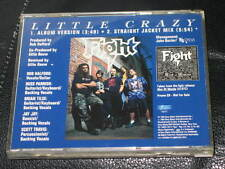FIGHT - Little Crazy - PROMO CD w/ Straight Jacket Mix! judas priest rob halford