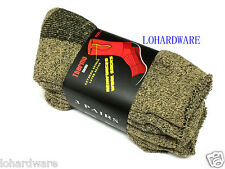 3 pair x Size 6-10 Heavy Duty Thermo Reinforceo Wool Socks(Brand new)