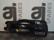 AUDI A2 1.4 PETROL 2001 DRIVERS SIDE REAR EXTERNAL DOOR HANDLE (SOME MARKS)