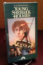 Young Sherlock Holmes Steven Spielberg Presents Vintage VHS Tape 1985 SEALED