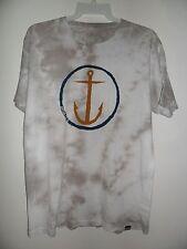 """Captain Fin Men's S/S T-Shirt """"Original Anchor"""" WHT - Large - NWT - Reg $58"""