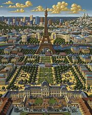 Jigsaw puzzle International Paris France 1000 piece NEW Made in USA