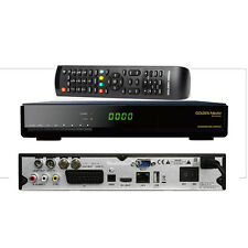 Golden Media Wizard HD Vote 2 HDTV Sat Receiver DVB-S2 /T2/ C Tuner Hybrid 1080p