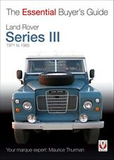 Land Rover Series III The Essential Buyers Guide book paper 1971 to 1985