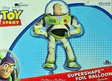 "TOY STORY BIRTHDAY PARTY SUPPLIES BUZZ SUPER SHAPE 35"" HELIUM FOIL BALLOON"
