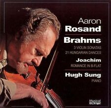 BRAHMS**3 VIOLIN SONATAS, 21 HUNGARIAN DANCES**CD