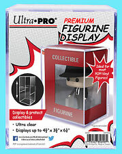 ULTRA PRO PREMIUM FIGURINE DISPLAY CASE Clear Hard Plastic Funko Pop Storage