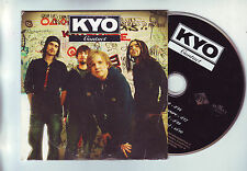 cd  4 pistes : KYO : Contact - je reve encore - contact clip + making of (video)