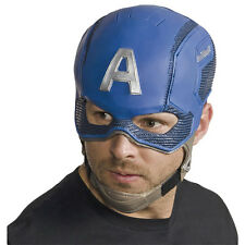 CAPTAIN AMERICA Adult Size Avengers Mask Age Of Ultron 1pc Costume Accessory