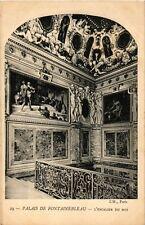 CPA  Place de Fontainebleau - L'Escalier du Roi (166415)