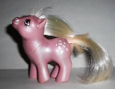Vintage My Little Pony MLP Pearlized Pearl Pearly Baby Cotton Candy