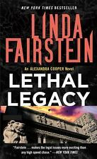 Lethal Legacy - Linda Fairstein (Alex Cooper Series) Suspense Fiction Paperback