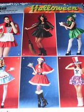 SIMPLICITY 0488-LADIES LITTLE RED RIDING HOOD-MISS.AMERICA-ALICE PATTERN 18-24uc