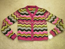 MISSONI for TARGET Kid's ZigZag Cardigan Sweater Jacket Child's Sz. LARGE NEW
