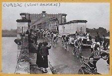 2000  --  PASAGE DU TOUR DE FRANCE A CUBZAC   SAINT ANDREDE   3C096