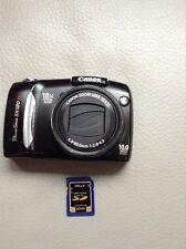Canon PowerShot SX120 IS 10.0 MP Digital Camera - Black + 2GB SD CARD