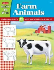 Learn to Draw Farm Animals 21 Farm Animals (pb) by Walter Foster NEW