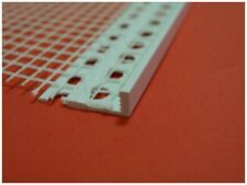 10 x uPVC stop meshed bead / profile 2500 metre / 6 mm