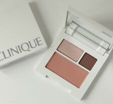 CLINIQUE BLUSHER & EYESHADOW COMPACT ~ STRAWBERRY FUDGE / SMOLDERING PLUM