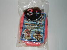 DIGIMON DIGIVICE PINK BAGGED TACO BELL KIDS MEAL TOY TIP CARD 1 OF 4 (C) 2000