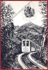 GENOVA CERANESI 24 SANTUARIO - TRENO CREMAGLIERA Cartolina (1966 ?)