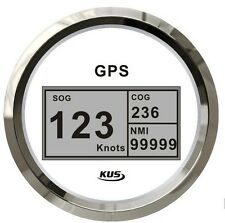 85mm White Digital GPS speedometer for car truck CCSB-WS (SV-KY08118)
