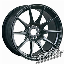XXR 527 17x8.25 5x114.3 5x100 +35 Chromium Black FRS BRZ Golf Scion TC Corolla