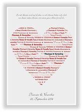 Geschenkidee Valentinstag Hochzeit Heirat Geburtstag Herz personalisiert Liebe