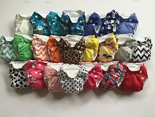 You Pick 4 THX Cloth Diaper All in one (AIO) fit Newborn - 13 lbs. NEW PRINTS