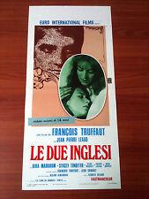 LE DUE INGLESI locandina poster affiche Les deux Anglaises Truffaut Leaud