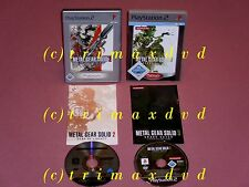 2xPS2 _ Metal Gear Solid 2 Sons Of Liberty & Metal Gear Solid 3 Snake Eater