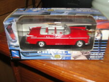 NEW RAY 1/43 DIE CAST RARE RED 1955 CHRYSLER C-300  CONVERTIBLE MINT IN BOX