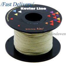 Braided Kevlar Line 100ft 250lb Survival Cord for Outdoor Sports Fishing Kites